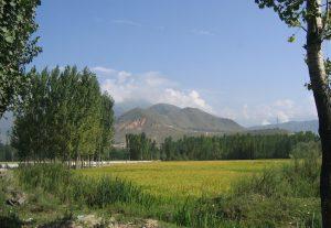 Pahalgam Valley in the Indian state of Jammu and Kashmir (credit: Vinayaraj).